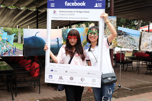 Youth in Hanoi join no-plastic-pollution event hosted by US Embassy