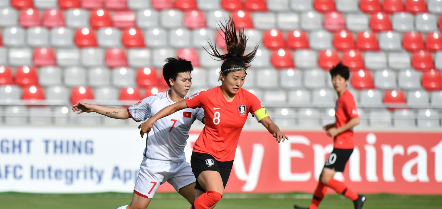Women's World Cup dream shattered for Vietnam after losing run at Asian qualifier