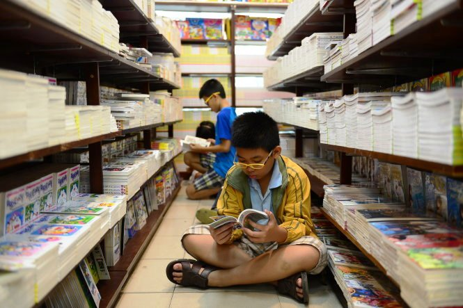 Reading in Vietnam: One page at a time