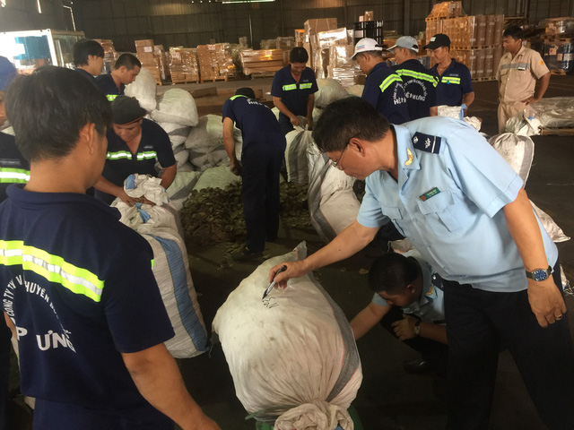 ​Tons of pangolin scales from Congo seized by Vietnamese customs