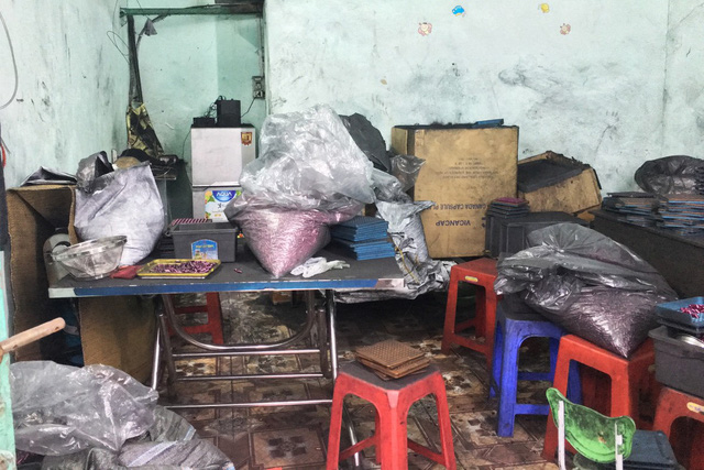 ​​Cosmetics made of bamboo charcoal powder found in Ho Chi Minh City