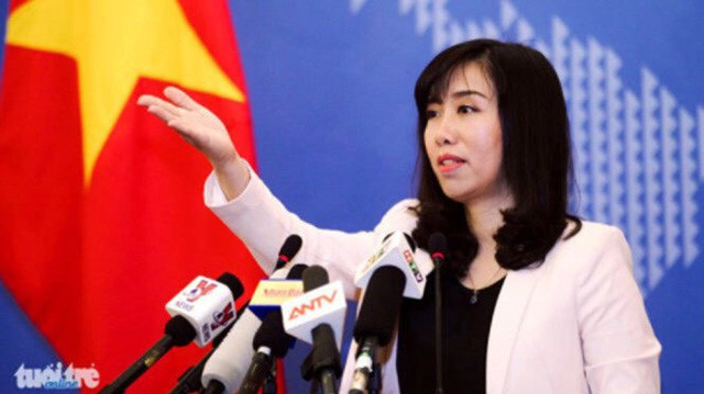 Vietnam requires China to remove military equipment from Truong Sa (Spratly) Islands
