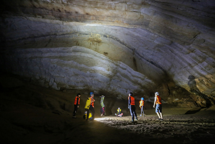 Fearless Vietnamese man notches 30 caving expeditions in Vietnam