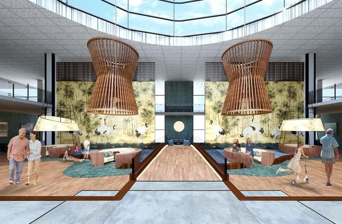 Hanoi girl wins US interior design contest with Vietnamese bamboo-inspired sketch