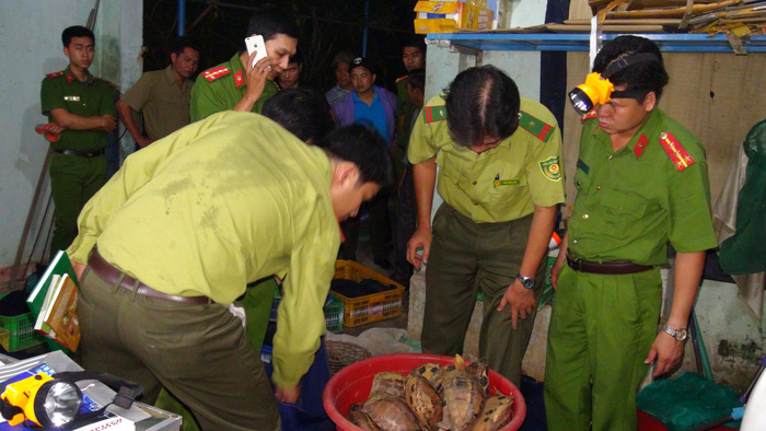 Police in central Vietnam bust wildlife trafficking ring​
