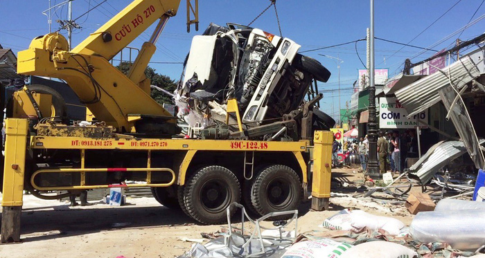 Brake failure ruled out as cause of fatal truck accident near Da Lat