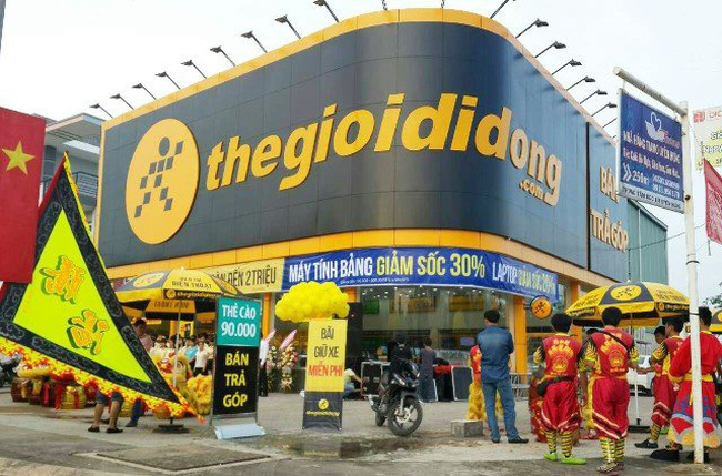 Vietnam's leading mobile retailer The Gioi Di Dong shutters six stores in month