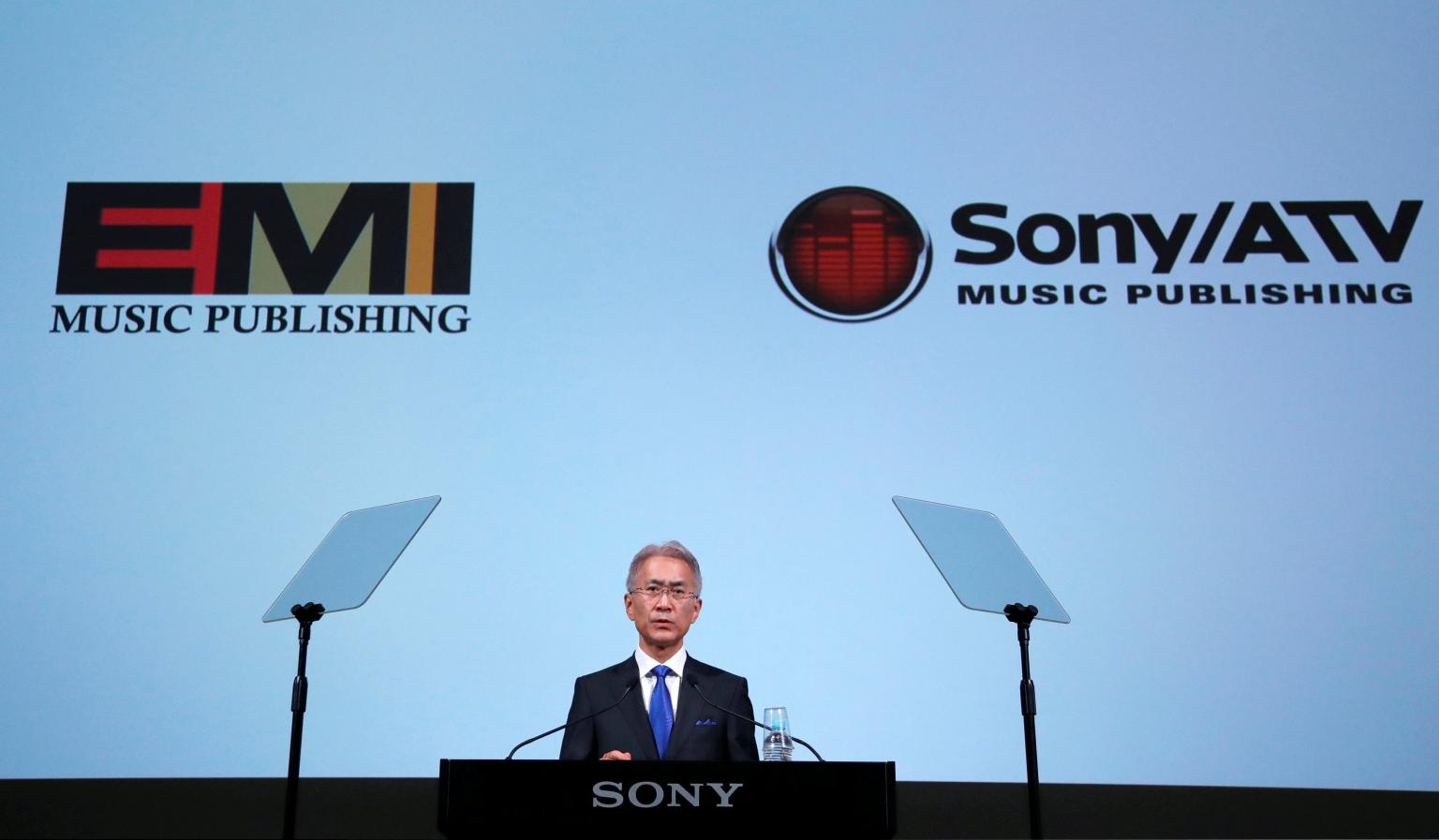 Sony in $2.3 bln deal for EMI, becomes world's biggest music publisher