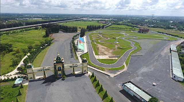 Developer caught transferring land plots within distrained theme park project in southern Vietnam