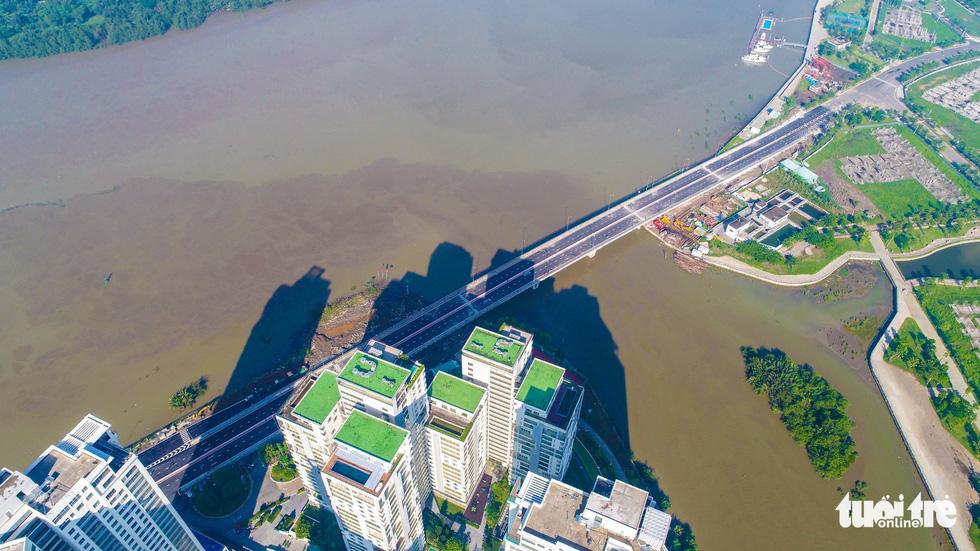 Multimillion-dollar bridge leading to Diamond Islet opens in Ho Chi Minh City
