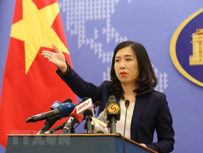 Vietnam requests China to cease live-fire exercises in Hoang Sa (Paracels)