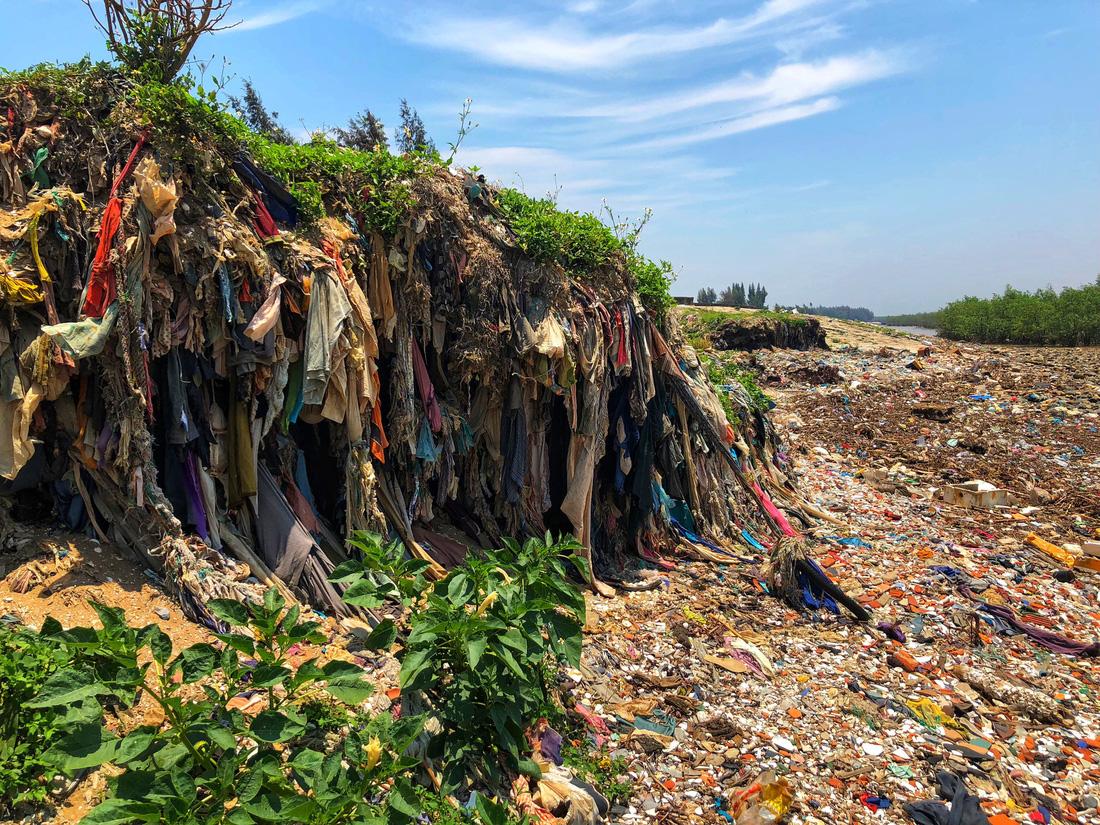 A 'landfill.' Photo: Tuoi Tre