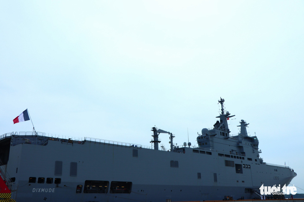 French naval ships begin five-day port call in Ho Chi Minh City