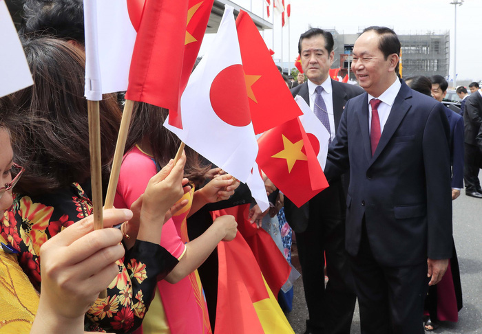 ​Vietnamese president wraps up state visit to Japan