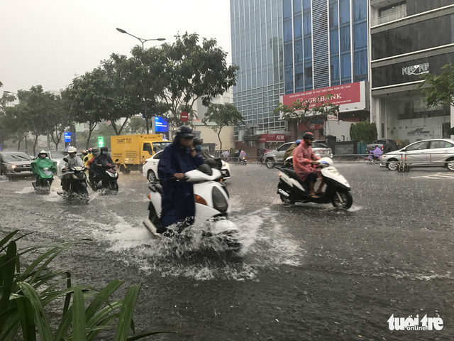 ​Heavy downpour sinks Ho Chi Minh City, again