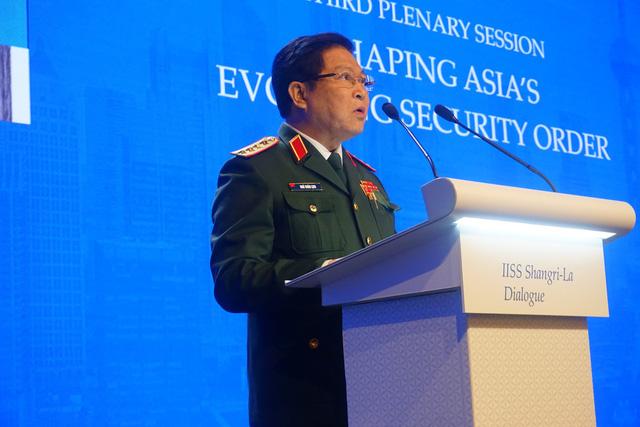 Vietnam defense minister talks regional security order at Shangri-La Dialogue