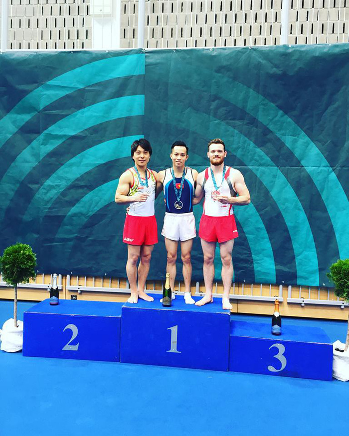 ​Vietnamese artistic gymnasts win two golds at FIG World Cup in Slovenia