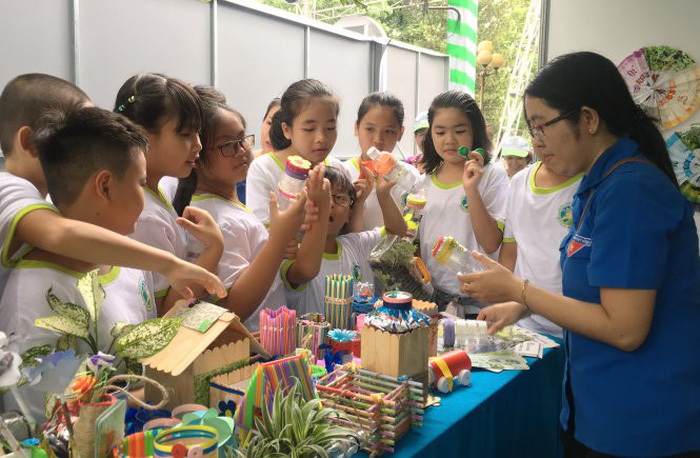 'Living Green' expo held to spur environmental actions in Ho Chi Minh City