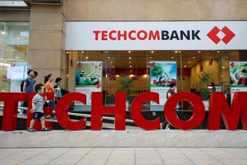 Vietnam's Techcombank tumbles in market debut as investors revalue large caps