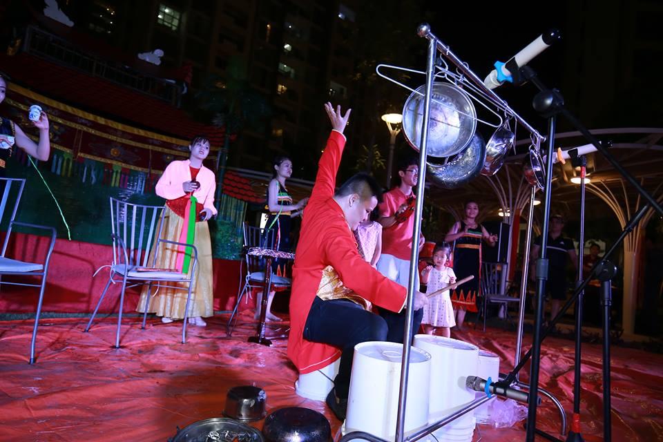 Vietnamese drummer breathes musical life into pots, pans