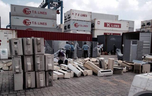 Scrap imports choke Ho Chi Minh City ports