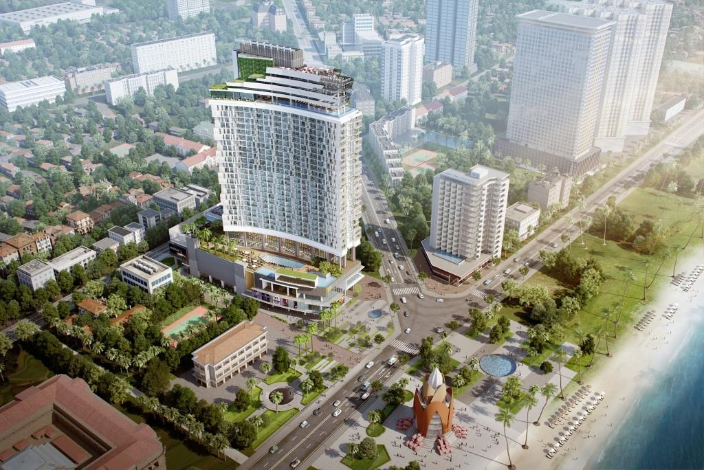 A&B Central Square an A&B Group milestone project in Nha Trang