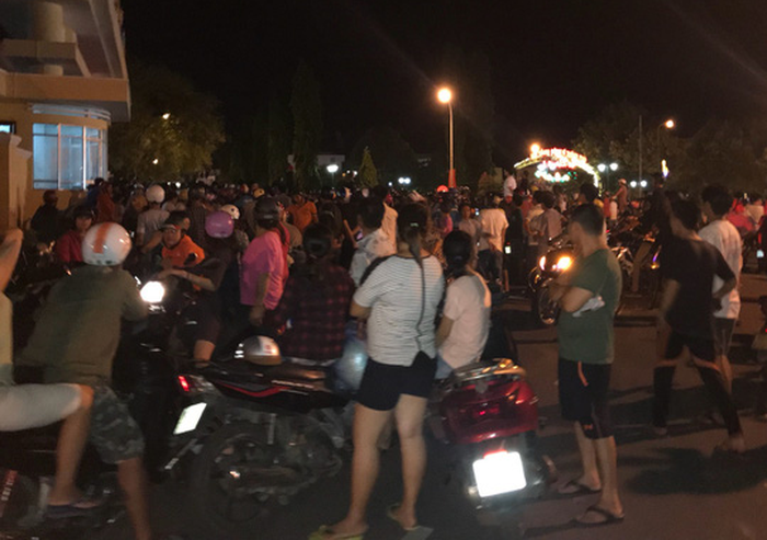 18 detained in southern Vietnam for causing civil disorder