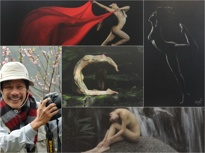 Thai Phien and his nude art photos.