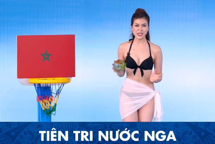 ​Vietnamese viewers say 'nothing wrong' with bikini-donning MC for World Cup show: poll