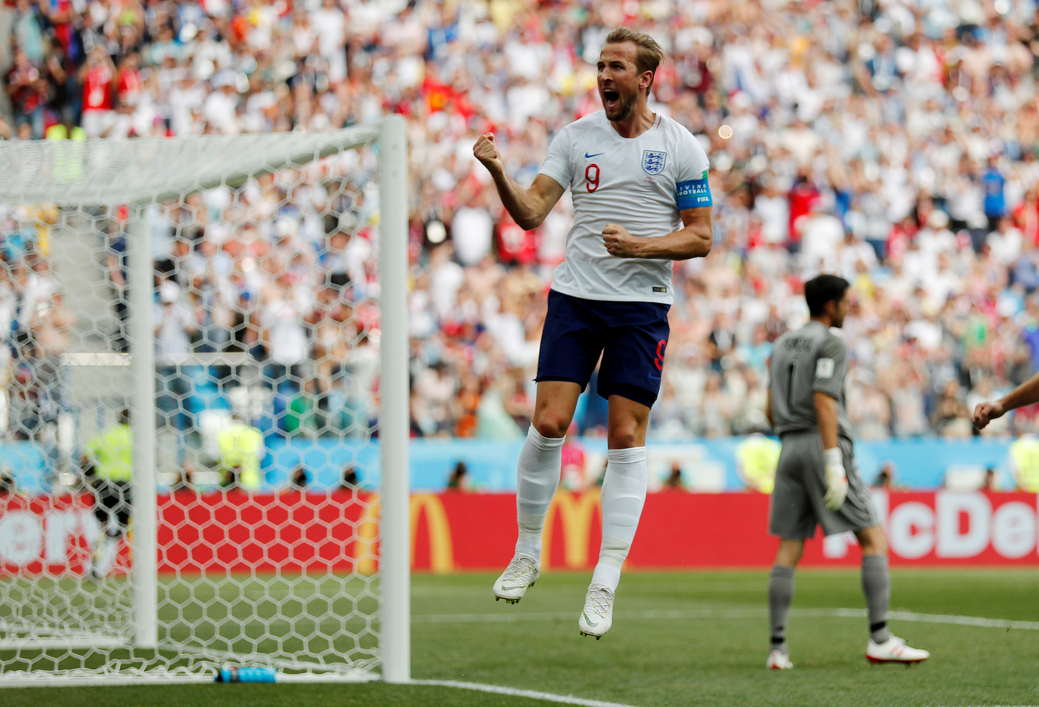 Englandrout Panama 6-1 with Kane hat-trick