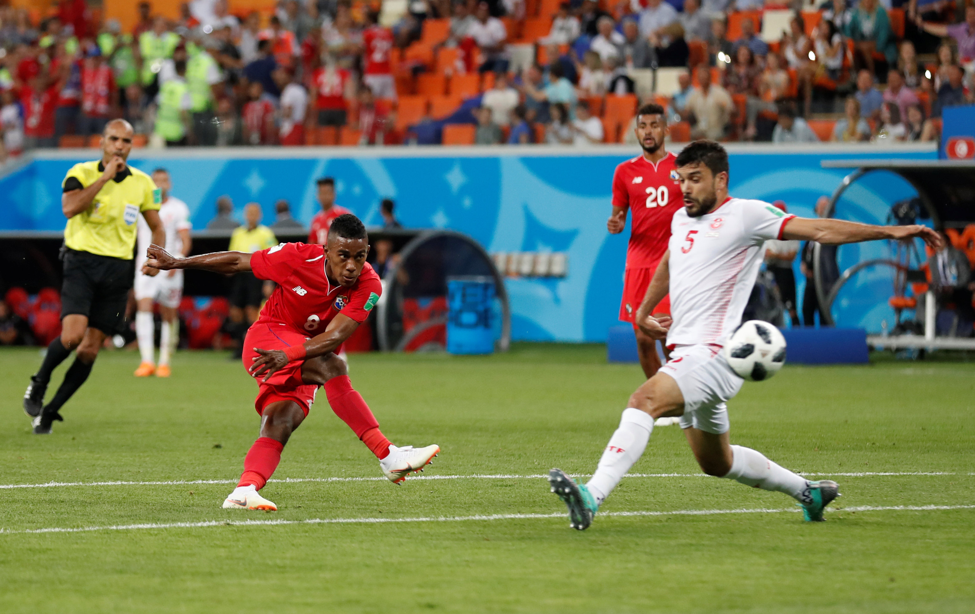 Khazri gives Tunisia first finals win in 40 years