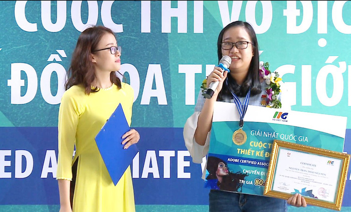 Vietnamese college student interested in design to join global competition in US