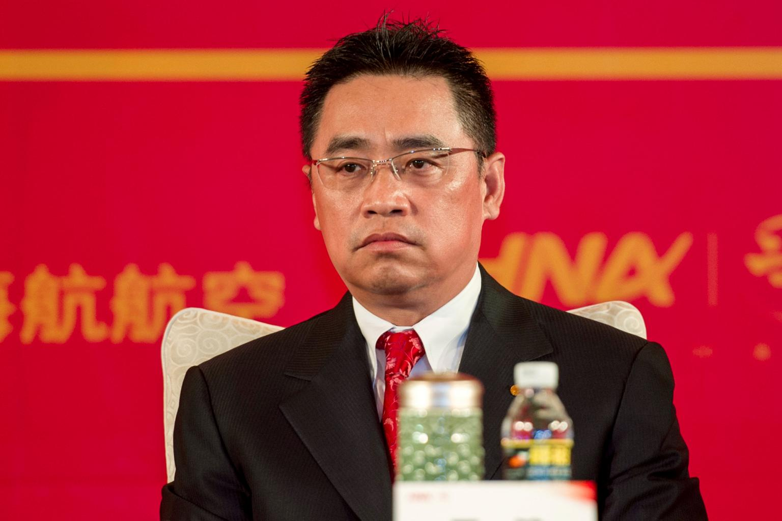 China's HNA Chairman Wang dies in France after falling from a wall