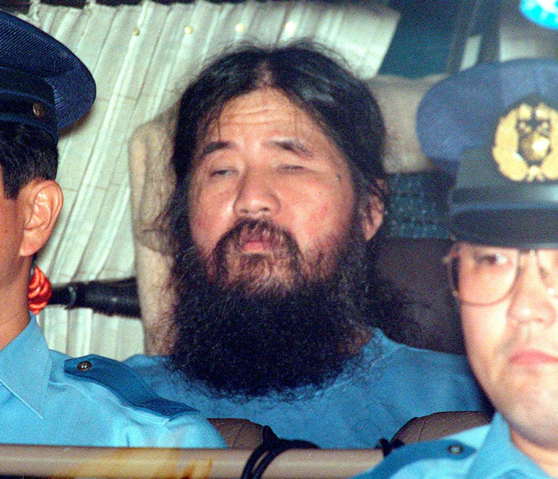 Japan hangs seven for doomsday cult sarin attacks on Tokyo subway in 1995