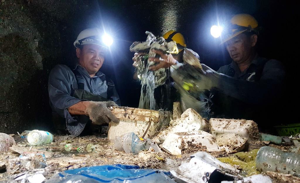 Ho Chi Minh City feeds a world of garbage underground