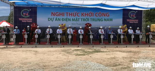 Vietnam begins work on $218mn solar power project