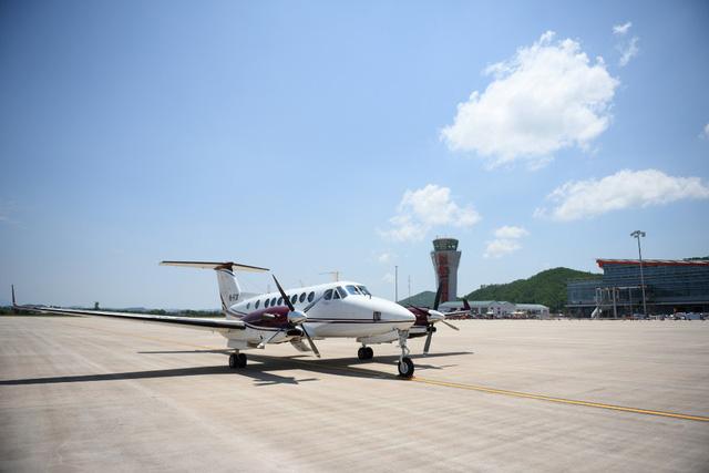 Vietnam's first private airport receives test flight