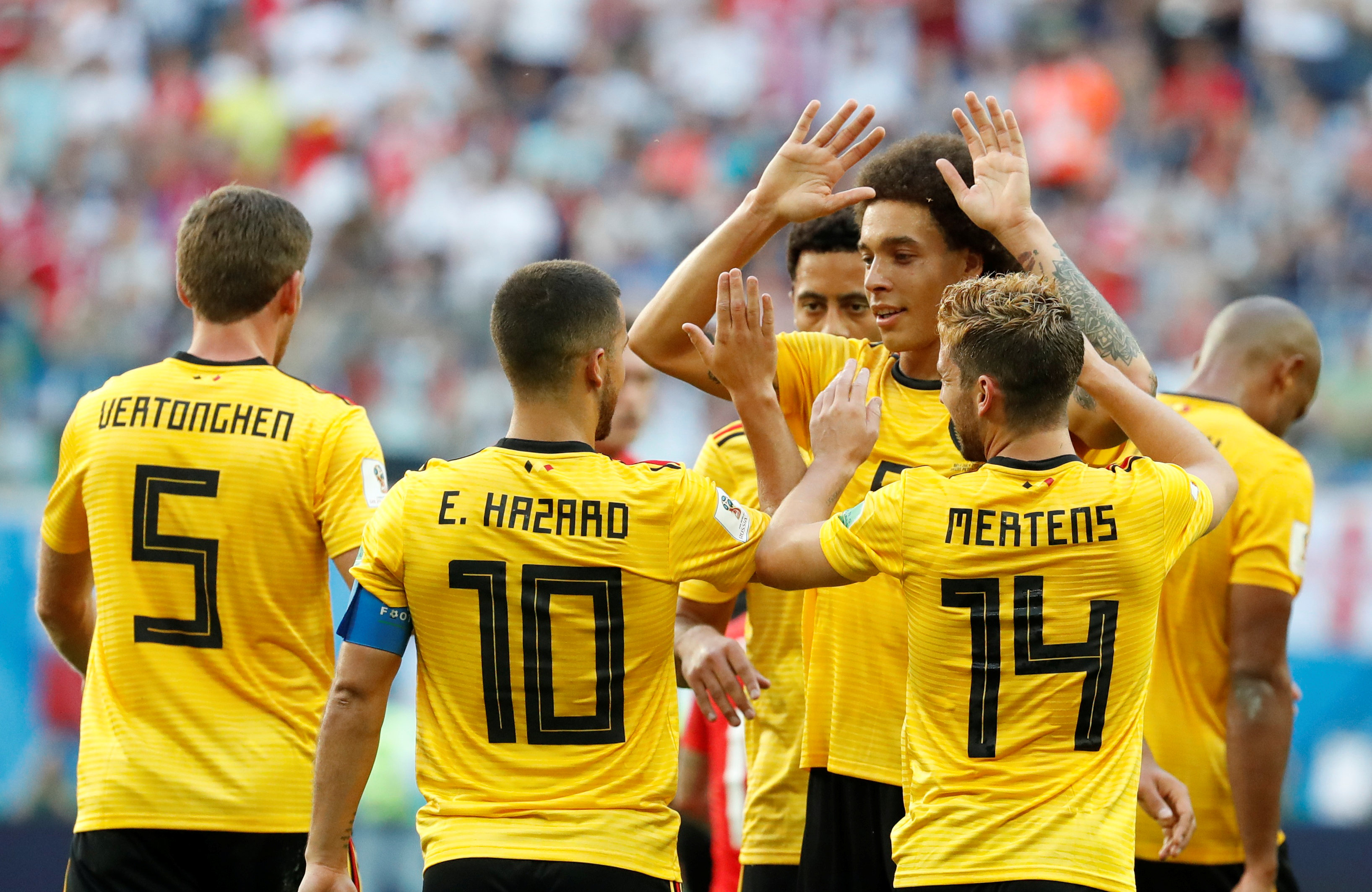 Belgium beat England to secure third place finish