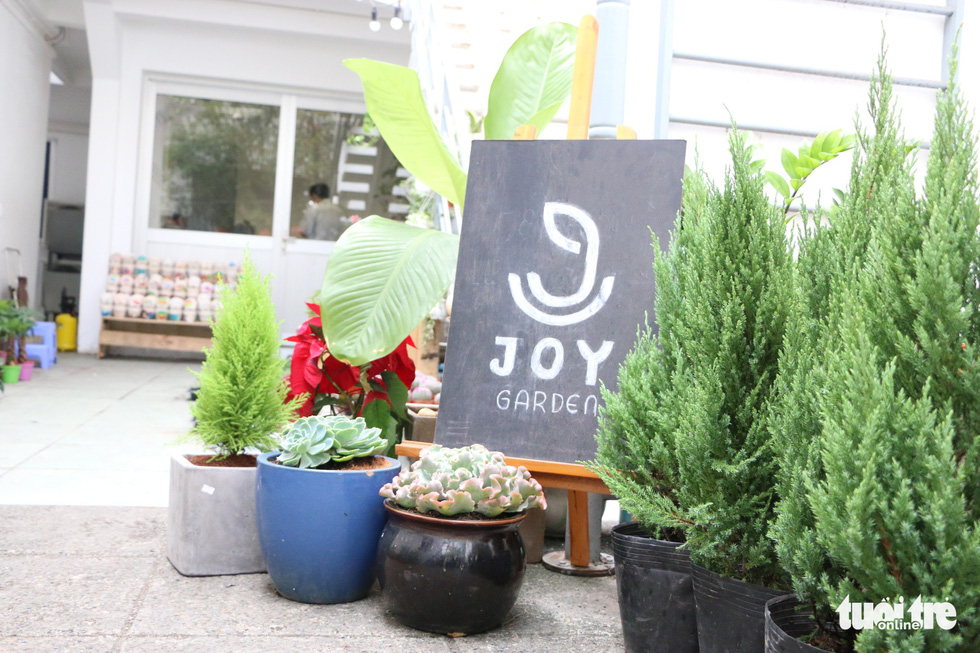 The front of Joy Garden. Photo: Tuoi Tre