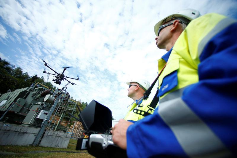 Power to the drones: utilities place bets on robots