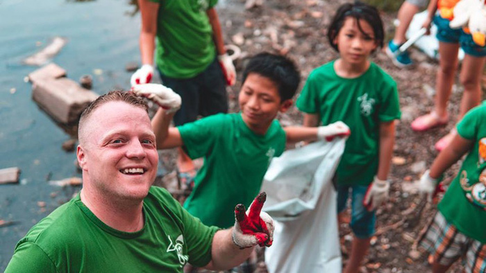 Keep Hanoi Clean founder targets younger generation for environmental awareness project