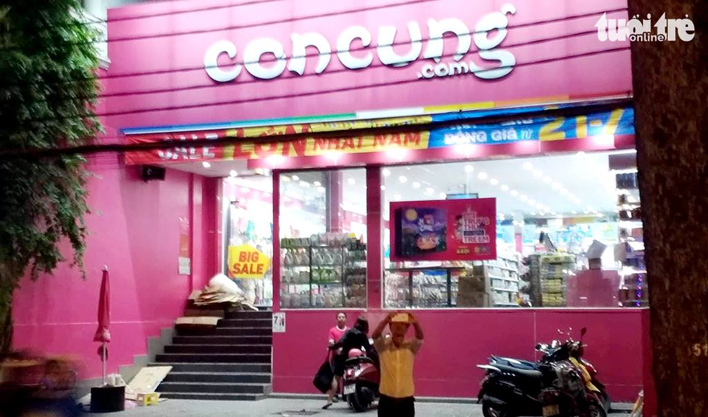 Vietnam's market watchdog launches inspection of baby and mom store chain