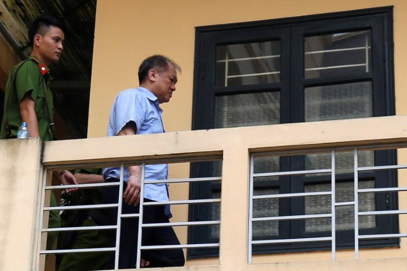 Vietnam jails former bankers in graft crackdown