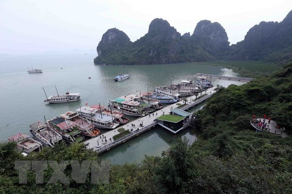 Ha Long Bay home tries to attain this year's goal of 12 million visitors