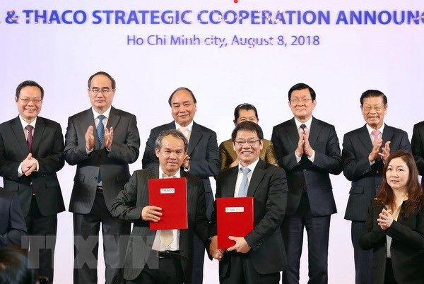 Vietnamese automaker Thaco inks strategic cooperation deal with beleaguered HAGL