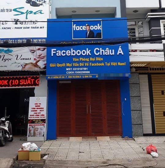 ​Office of 'Facebook Asia' sparks curiosity in Ho Chi Minh City