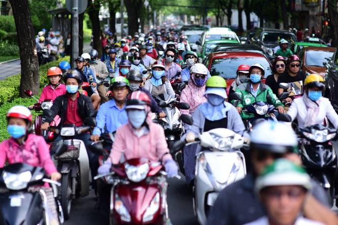 ​Ho Chi Minh City eyes complete downtown motorcycle ban from 2030