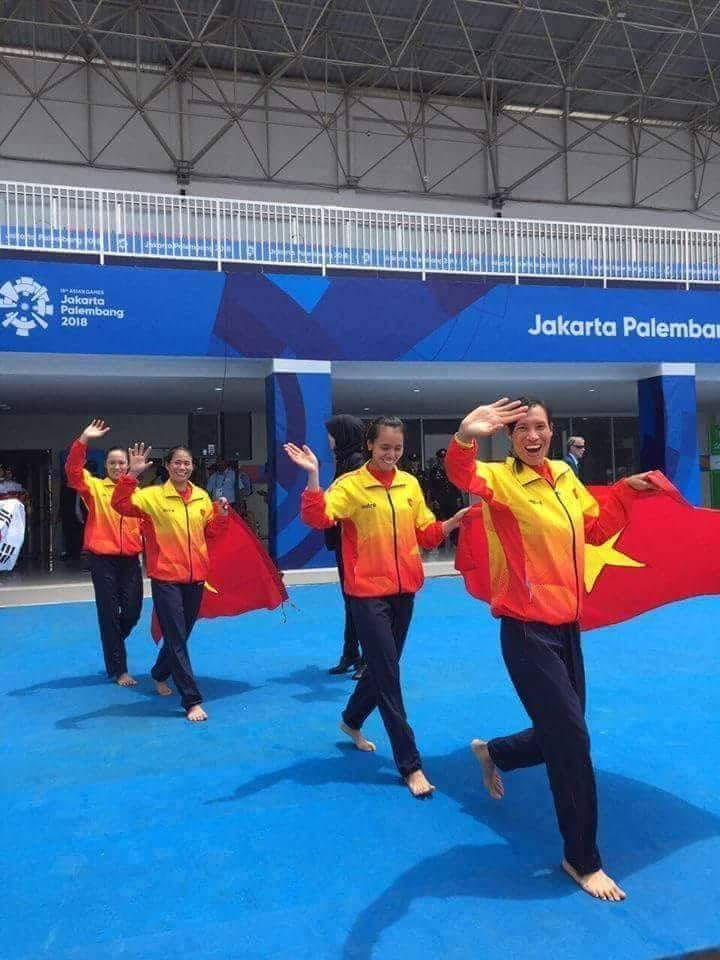 Female rowers quench Vietnam's thirst for gold at 2018 Asian Games