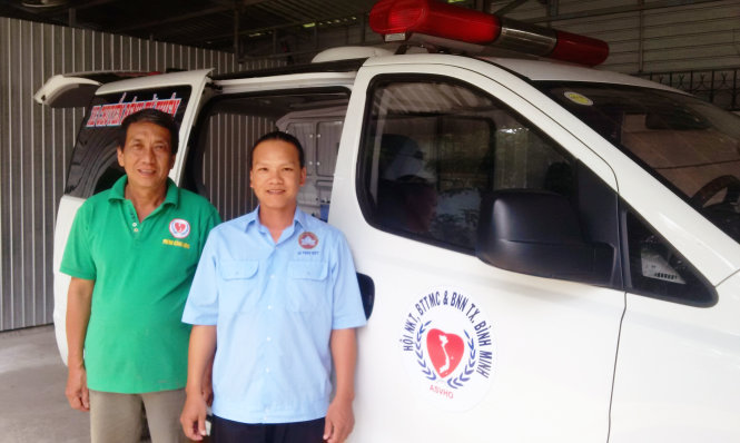 Vietnamese charitable group gives free meals, ambulance service to hospital patients