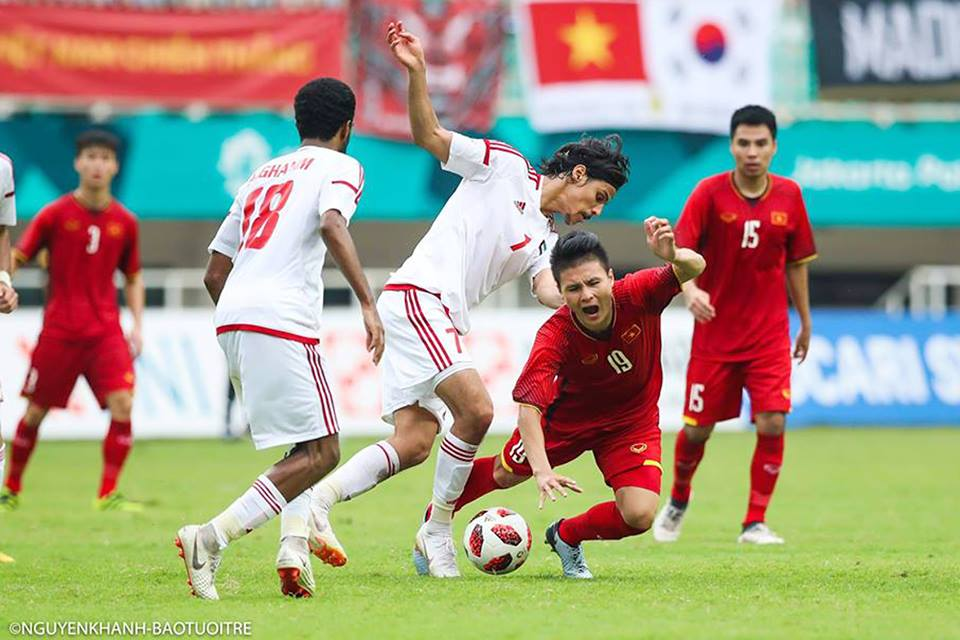 Asian Games football bronze medal slips through Vietnam's gasp after UAE shootout defeat